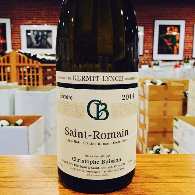 2014 Saint-Romain <i>Blanc</i> Christophe Buisson - Kermit Lynch Wine Merchant
