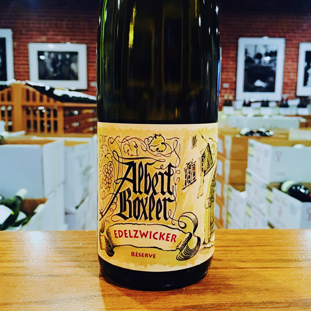 2014 Edelzwicker Réserve Albert Boxler - Kermit Lynch Wine Merchant