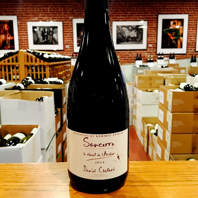"2014 Sancerre <em>Rouge</em> ""Chant de l'Archer"" Daniel Chotard - Kermit Lynch Wine Merchant"