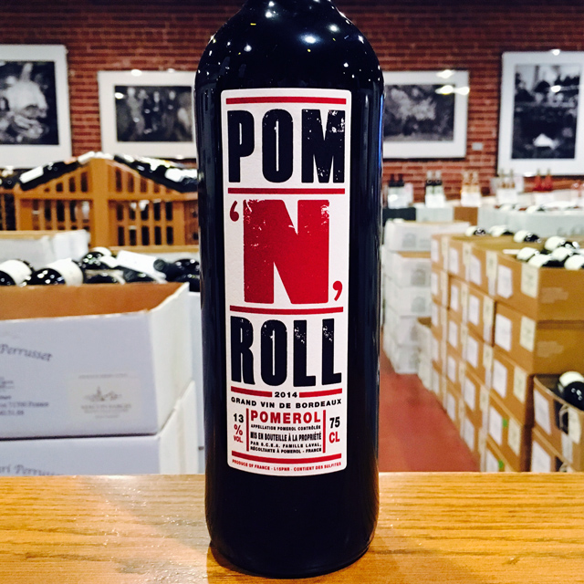 "2014 Pomerol ""Pom 'N' Roll"" Château Gombaude-Guillot"