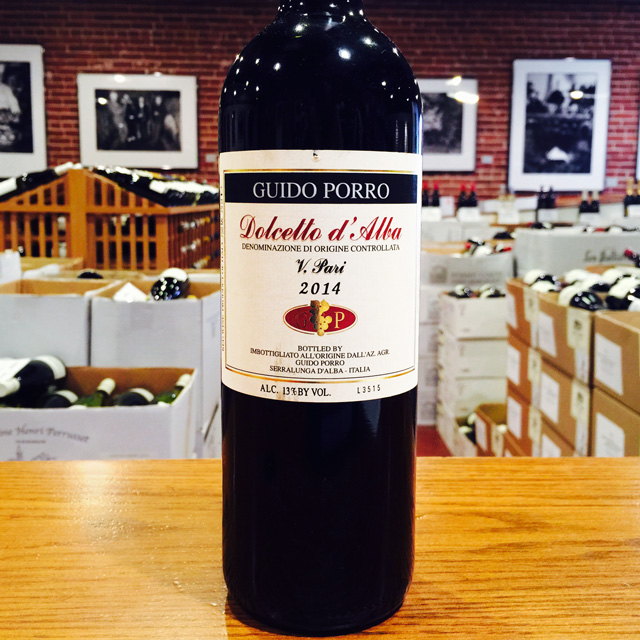 "2014 Dolcetto d'Alba ""Vigna l'Pari"" Guido Porro - Kermit Lynch Wine Merchant"
