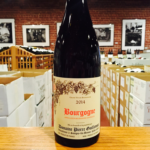2014 Bourgogne <i>Rouge</i> Domaine Pierre Guillemot - Kermit Lynch Wine Merchant