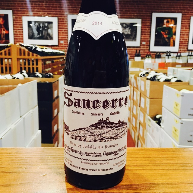 2014 Sancerre <i>Rouge</i> Domaine Hippolyte Reverdy - Kermit Lynch Wine Merchant