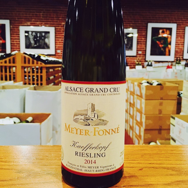 "2014 Riesling <i>Grand Cru</i> ""Kaefferkopf"" Meyer-Fonné - Kermit Lynch Wine Merchant"
