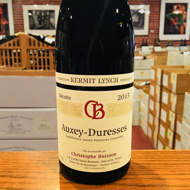 2015 Auxey-Duresses <em>Rouge</em> Christophe Buisson