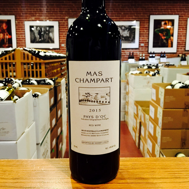 2015 Pays d'Oc <em>Rouge</em> Mas Champart - Kermit Lynch Wine Merchant