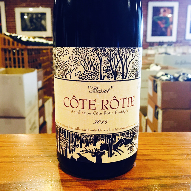 "2015 Côte-Rôtie ""Besset""  Barruol / Lynch"