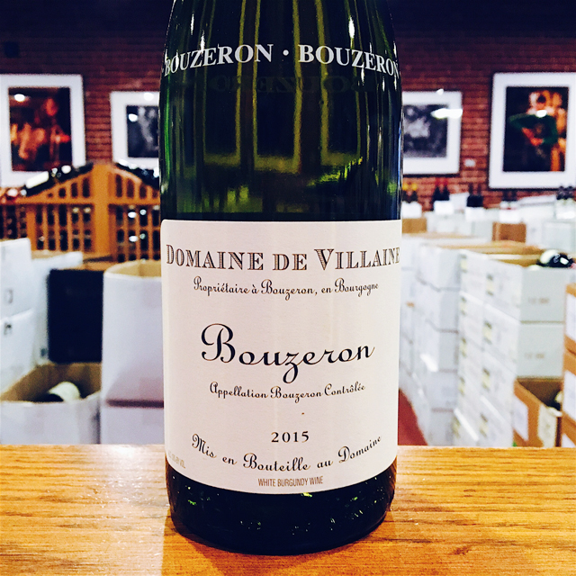 2015 Bouzeron A. & P. De Villaine - Kermit Lynch Wine Merchant