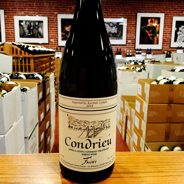 2015 Condrieu Domaine Faury - Kermit Lynch Wine Merchant