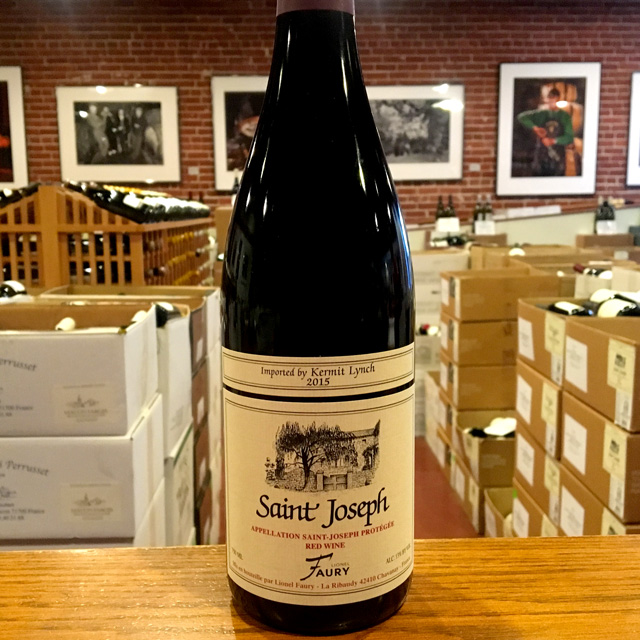 2015 Saint Joseph <i>Rouge</i> Domaine Faury - Kermit Lynch Wine Merchant