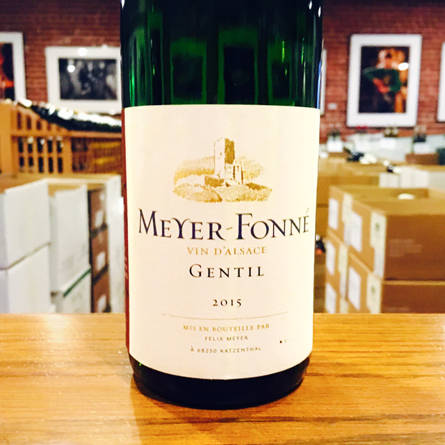 2015 Gentil d'Alsace Meyer-Fonné - Kermit Lynch Wine Merchant