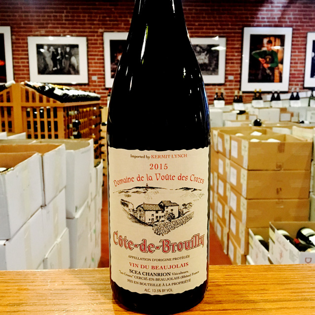 2015 Côte-de-Brouilly Nicole Chanrion - Kermit Lynch Wine Merchant