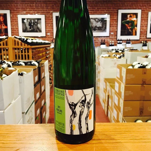 "2015 Riesling ""Vignoble d'E"" Domaine Ostertag - Kermit Lynch Wine Merchant"