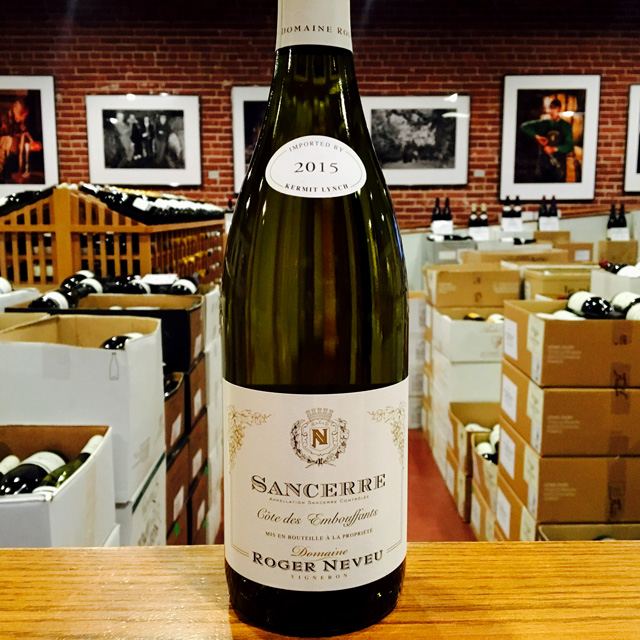 "2015 Sancerre ""Clos des Bouffants"" Domaine Roger Neveu - Kermit Lynch Wine Merchant"