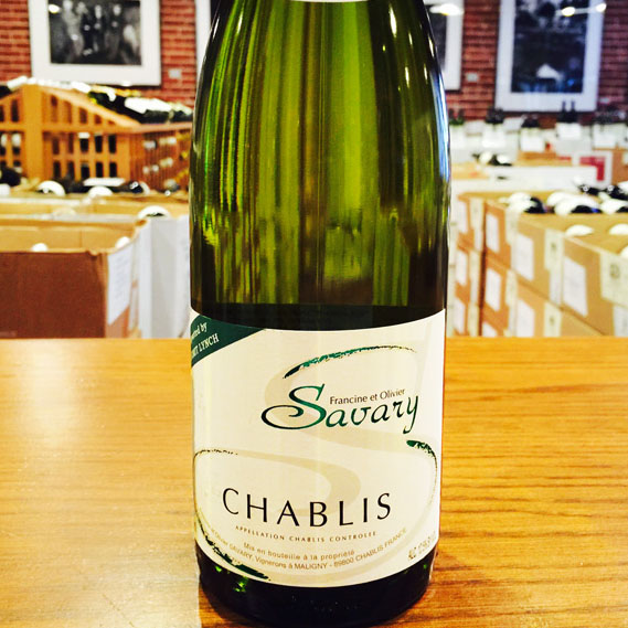 2015 Chablis Domaine Savary - Kermit Lynch Wine Merchant