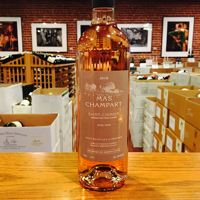 2016 Saint-Chinian Rosé Mas Champart - Kermit Lynch Wine Merchant