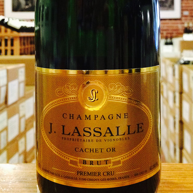 "NV Brut <i>1er Cru</i> ""Cachet Or""  J. Lassalle - Kermit Lynch Wine Merchant"