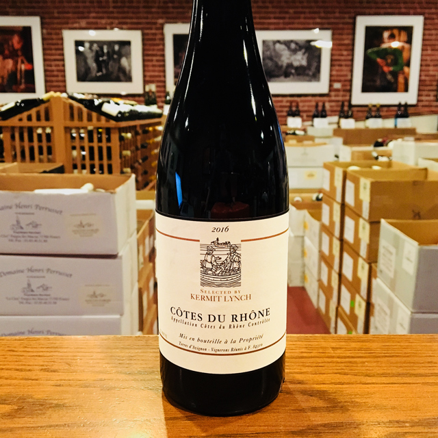 2016 Côtes du Rhône Selected by Kermit Lynch - Kermit Lynch Wine Merchant