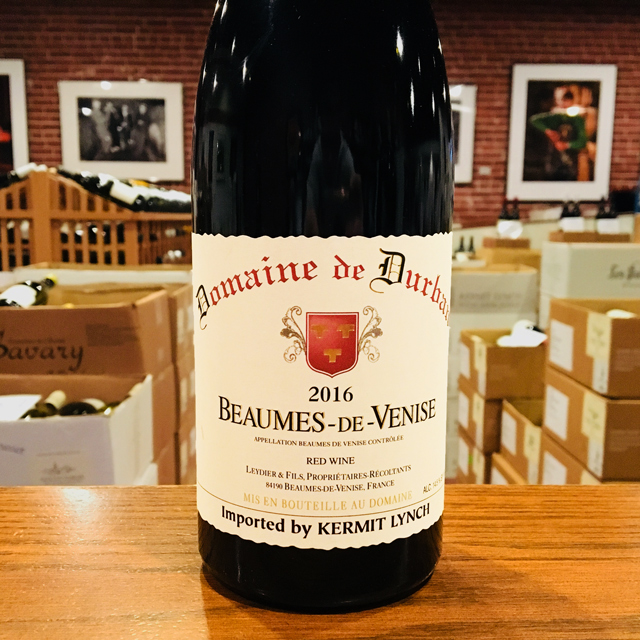 2016 Beaumes-de-Venise <i>Rouge</i> Domaine de Durban - Kermit Lynch Wine Merchant