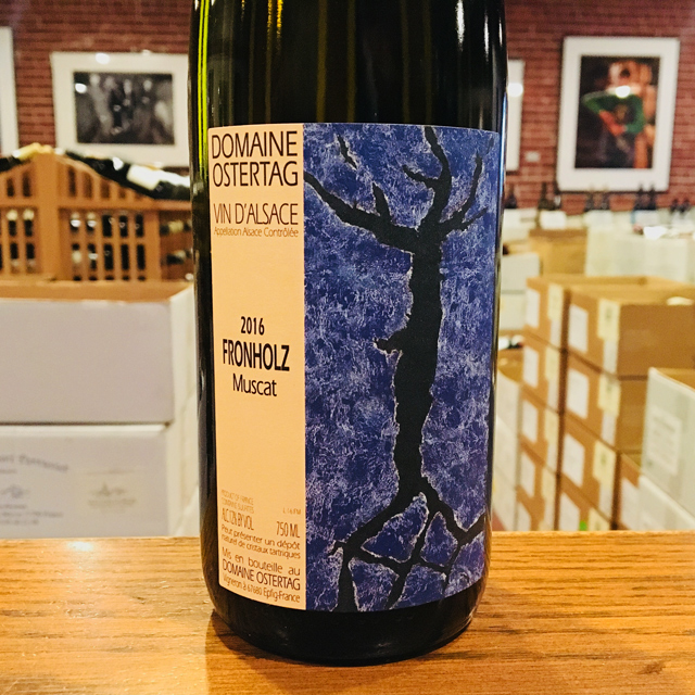 "2016 Muscat ""Fronholz""  Domaine Ostertag"