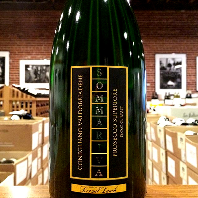 NV Prosecco Superiore Brut Sommariva - Kermit Lynch Wine Merchant
