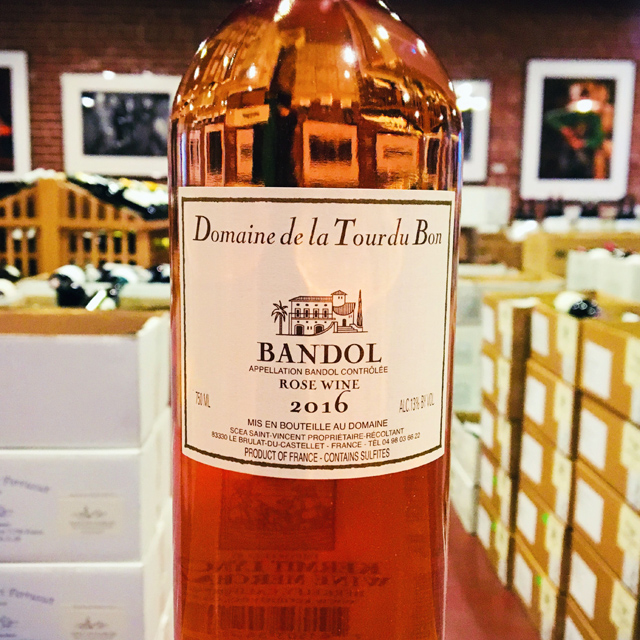 2016 Bandol Rosé Domaine de la Tour du Bon - Kermit Lynch Wine Merchant
