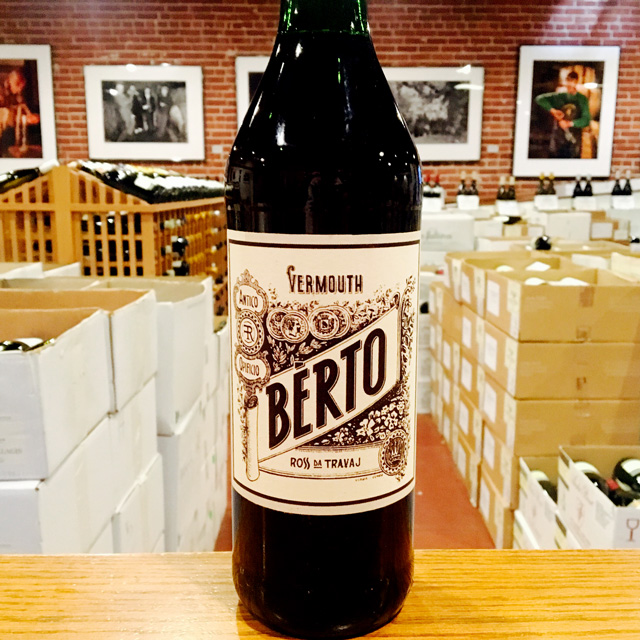 """Ross da Travaj"" Vermouth Bèrto Vermouth - Kermit Lynch Wine Merchant"