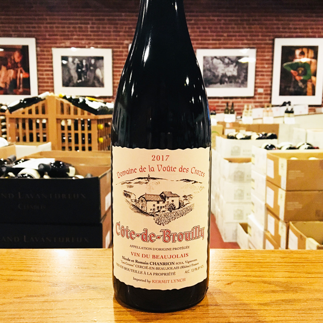 2017 Côte-de-Brouilly Nicole Chanrion