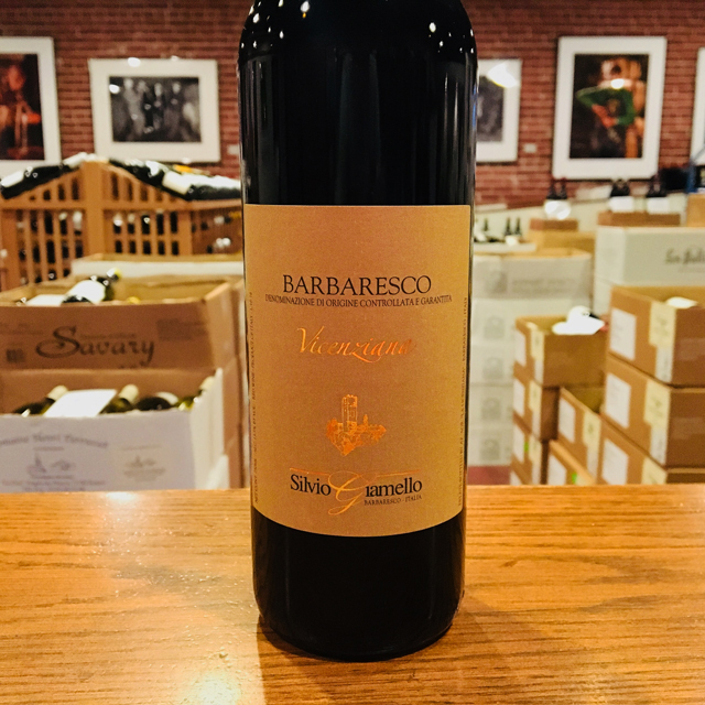 "2015 Barbaresco ""Vicenziana"" Silvio Giamello"