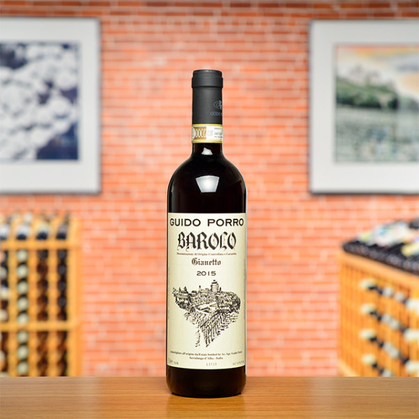"2015 Barolo ""Gianetto"" Guido Porro"