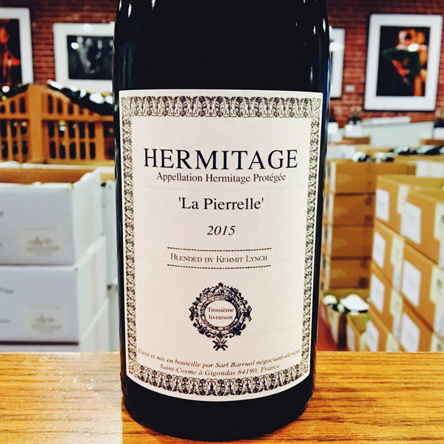 "2015 Hermitage <i>Blanc</i> ""La Pierrelle"" Barruol / Lynch"