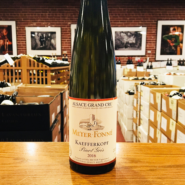 "2016 Pinot Gris <em>Grand Cru</em> ""Kaefferkopf"" Meyer-Fonné"
