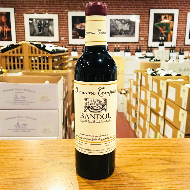 2017 Bandol <i>Rouge</i> HALF BOTTLE Domaine Tempier