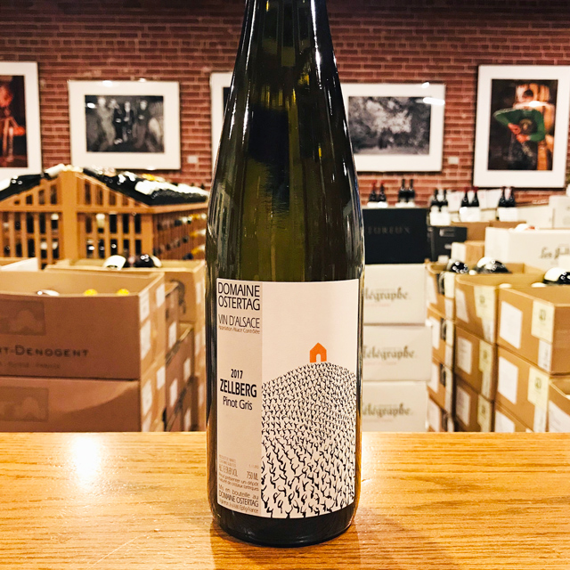 "2017 Pinot Gris ""Zellberg"" Domaine Ostertag"