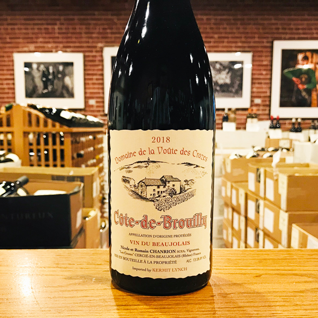 2018 Côte-de-Brouilly Nicole Chanrion