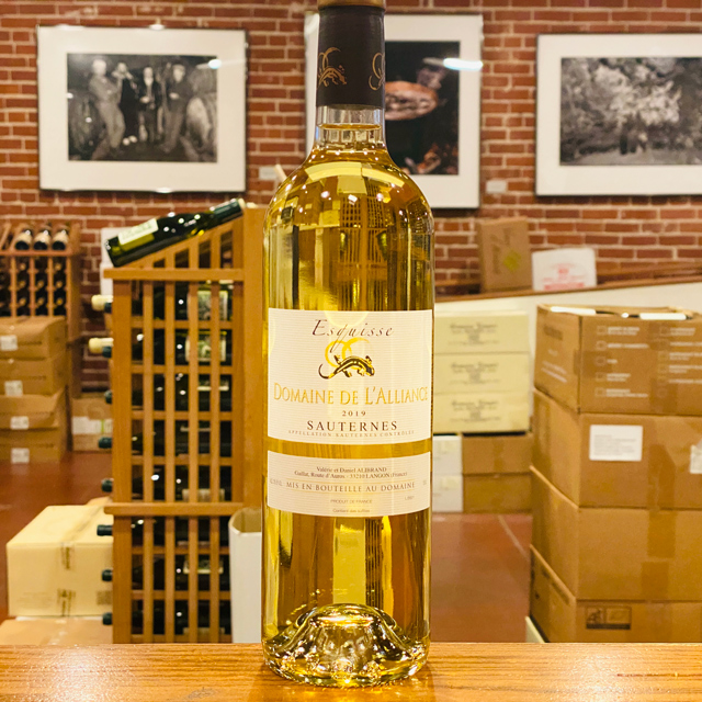 "2019 Sauternes ""Esquisse"" Domaine de l'Alliance"