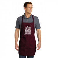 Burgundy Kermit Lynch Apron