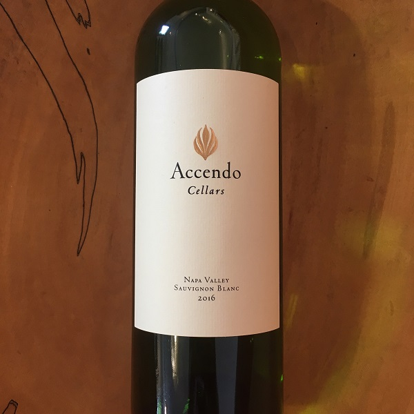 Accendo Cellars  Sauvignon Blanc 2016 - K. Laz Wine Collection