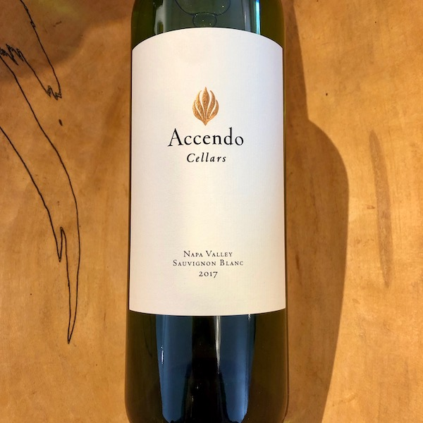 Accendo Cellars Sauvignon Blanc 2017 - K. Laz Wine Collection