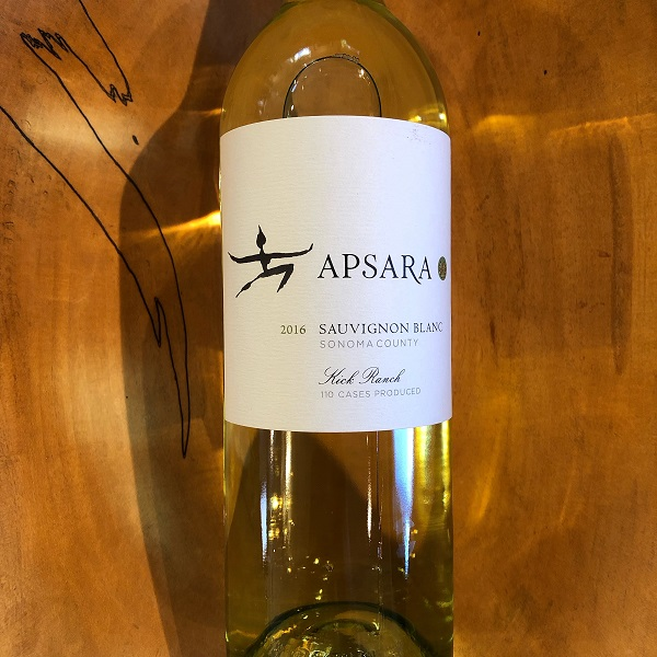 Apsara  'Kick Ranch Vineyard' Sauvignon Blanc 2016 - K. Laz Wine Collection