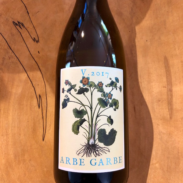 Arbe Garbe White 2017 - K. Laz Wine Collection
