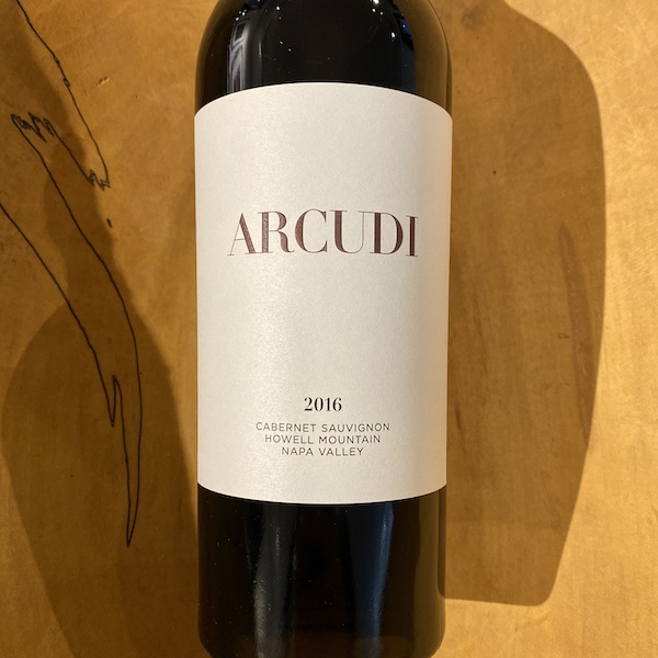 Arcudi Howell Mountain Cabernet Sauvignon 2016 - K. Laz Wine Collection