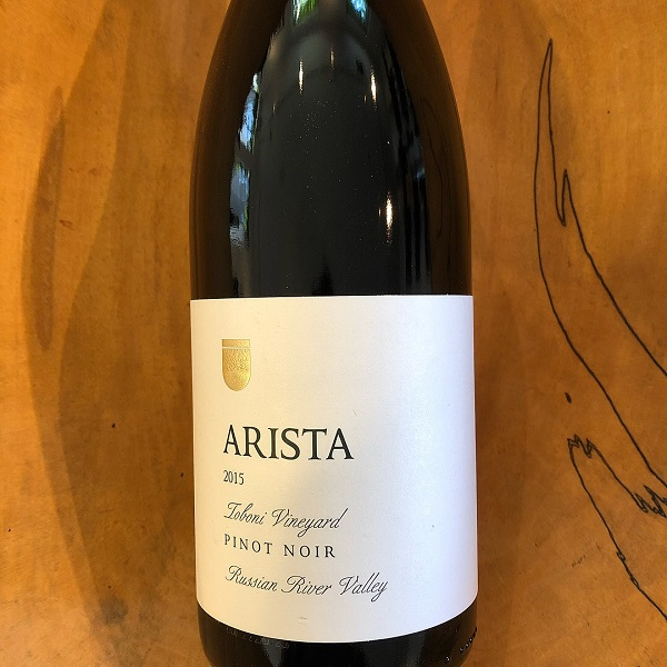 Arista  'Toboni Vineyard' Pinot Noir 2015 - K. Laz Wine Collection