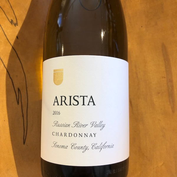 Arista  Russian River Valley Chardonnay 2016 - K. Laz Wine Collection