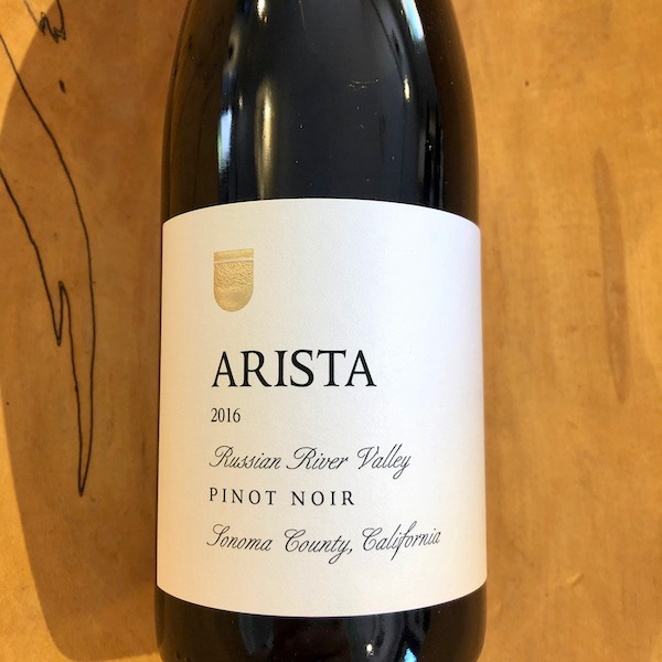 Arista Russian River Valley Pinot Noir 2016 - K. Laz Wine Collection