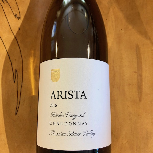 Arista Ritchie Vineyard Chardonnay 2016 - K. Laz Wine Collection