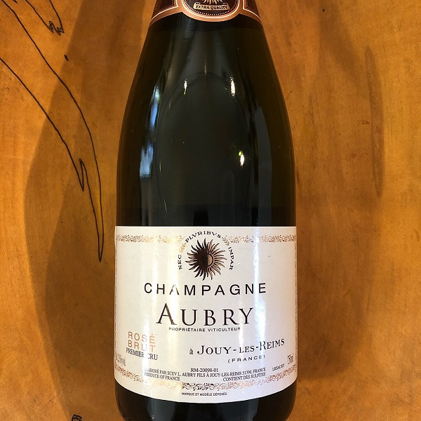 Aubry Brut Rose NV - K. Laz Wine Collection