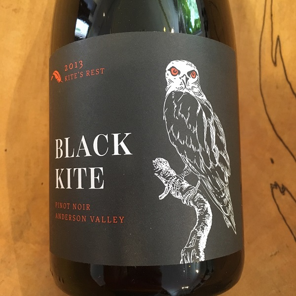 Black Kite 'Kite's Rest' Pinot Noir 2013 Anderson Valley - K. Laz Wine Collection