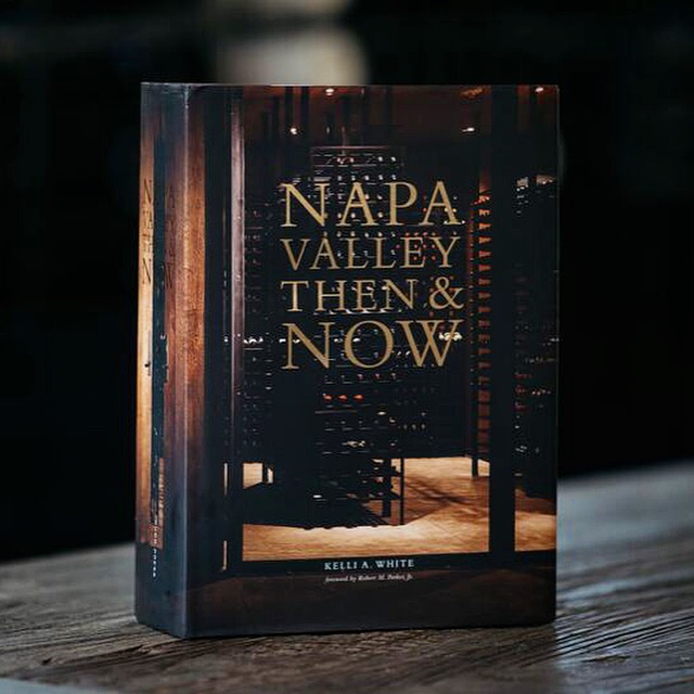Napa Valley Then & Now Book  - K. Laz Wine Collection
