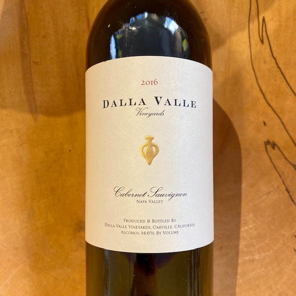 Dalla Valle Cabernet Sauvignon 2016 - K. Laz Wine Collection
